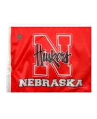 Rico Industries Nebraska Cornhuskers Car Flag Team Color