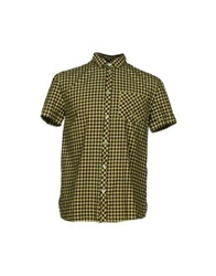 Pierre Balmain Shirts Acid Green
