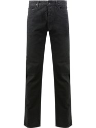 Rick Owens Drkshdw Straight Leg Jeans Men Cotton Polyester 33 Black