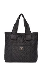 Marc Jacobs Nylon Knot Tote Black