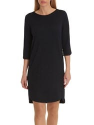 Betty And Co. Textured Jersey Dress Night Sky