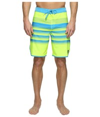 O'neill Hyperfreak Generator Scallop Superfreak Series Boardshorts Neon Yellow Men's Swimwear
