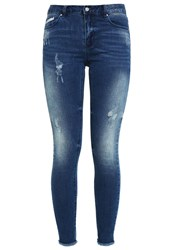 Vila Vicommit Slim Fit Jeans Medium Blue Denim