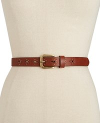 Inc International Concepts Studded Keeper Belt Only At Macy's