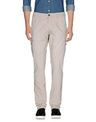 Monocrom Casual Pants Light Grey