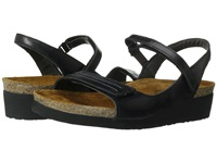 Naot Footwear Madison Black Madras Leather Women's Shoes