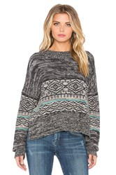 Twelfth St. By Cynthia Vincent Apres Ski Pullover Gray