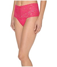 Hanky Panky Signature Lace Retro Thong Tickled Pink Women's Underwear