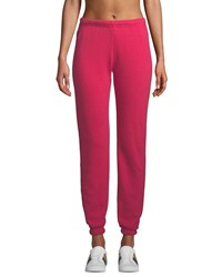 Aviator Nation Bolt Fade Jogger Sweatpants Pink