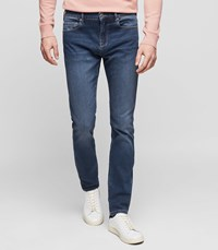 Reiss Tony Slim Fit Tapered Jeans In Indigo
