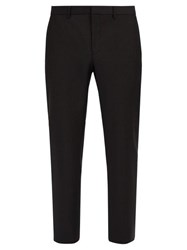 Givenchy Side Striped Wool Blend Trousers Black