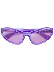 House Of Holland Tell Ah Sunglasses Pink And Purple