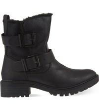 Miss Kg Snug Ankle Boots Black