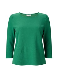 Eastex Textured Notch Trim Top Green
