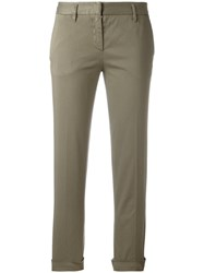 Aspesi Cropped Trousers Grey