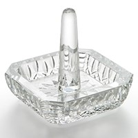 Waterford Lismore Square Ring Holder Crystal