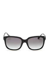 Carolina Herrera Women's Wayfarer Sunglasses Black
