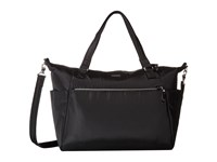 Pacsafe Stylesafe Anti Theft Tote Black Tote Handbags