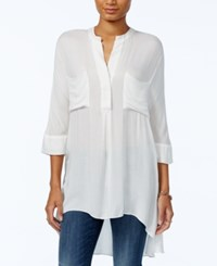 Tommy Hilfiger High Low Tunic Only At Macy's Ivory