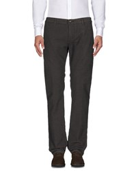 Richard James Brown Casual Pants Dark Brown