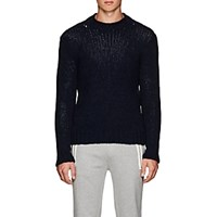Ralph Lauren Purple Label Cashmere Crewneck Sweater Navy