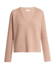 Helmut Lang Cash Wool And Cashmere Blend Sweater Nude