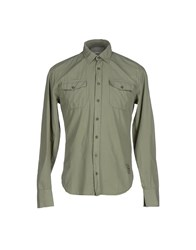 Dekker Shirts Shirts Men Military Green
