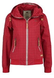 Ragwear Nuggie Waterproof Jacket Chili Red