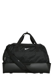 Nike Performance Club Team Swoosh Hardcase Xl Sports Bag Black White
