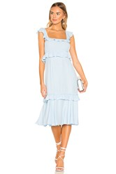 Saylor Maxine Dress Baby Blue