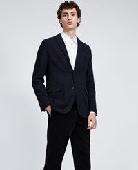 Aspesi Wool Blend Jacket Paperone Ii Grey