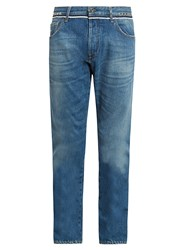 Valentino Rockstud Untitled 6 Slim Leg Jeans Denim
