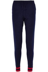 Chinti And Parker Cashmere Track Pants Navy