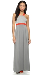 Vpl Double Face Maxi Dress