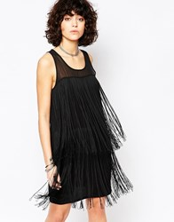 Religion Glow Dress Black