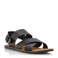 Bertie Funn Buckle Fastening Casual Sandals Black