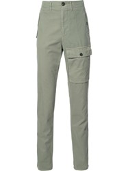 Brunello Cucinelli Cargo Pocket Trousers Green