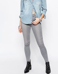 New Look Supersoft Skinny Jean Grey Short