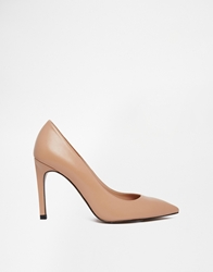 Whistles Cornel Nude Heeled Court Shoes