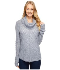 Mountain Khakis Countryside Cowl Neck Sweater Charcoal Women's Sweater Gray