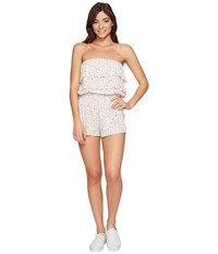 Billabong Ruffle Up Walkshorts Peony Women's Jumpsuit And Rompers One Piece Pink