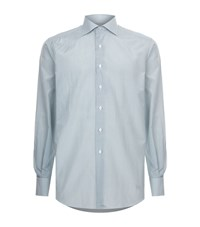 Stefano Ricci Geometric Print Shirt Male Grey
