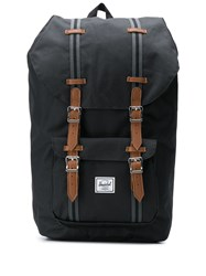 Herschel Supply Co. Little America Multi Pocket Backpack Black