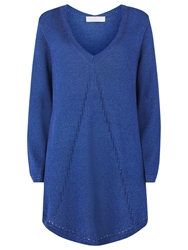 Windsmoor Cape Knit Jumper Navy