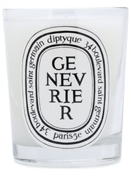 Diptyque Juniper Candle White