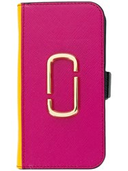 Marc Jacobs Snapshot Iphone 7 8 Case Pink And Purple