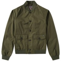 Woolrich Summer Bomber Jacket Green