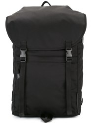 Stella Mccartney Square Top Backpack Black