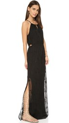 Twelfth St. By Cynthia Vincent Cutout Maxi Dress Black