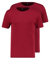 G Star Gstar Base R T S S 2Pack Basic Tshirt Chateaux Red Dark Red